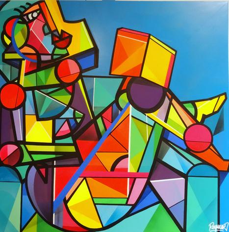 L'artiste peintre Julien Raynaud | Amylee | Interviews graffiti et Hip-Hop | Scoop.it