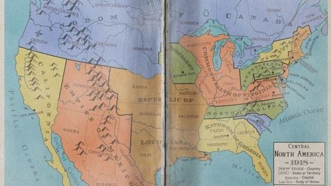 Maps of an Alternate North America That Never Became the United States | Teacher Tools and Tips | Scoop.it
