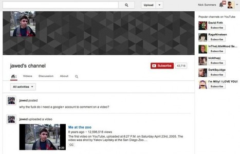 Why the f*** do I need a Google+ account to comment on a video? | SocialMedia_me | Scoop.it