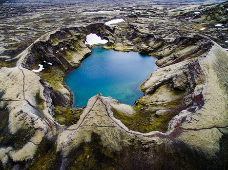 Iceland's Epic Landscapes from a Drone's-Eye View | Everything from Social Media to F1 to Photography to Anything Interesting | Scoop.it