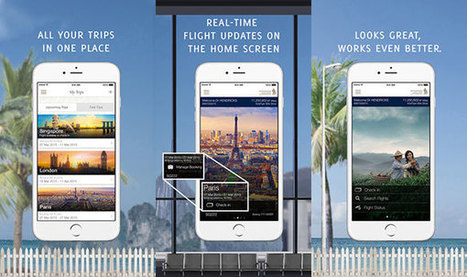 Singapore Airlines launches new Apple and Android apps | Wearable Devices | Scoop.it