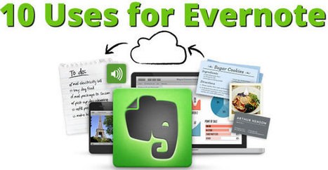 10 Ways to Use Evernote | New Media Literacies | Scoop.it