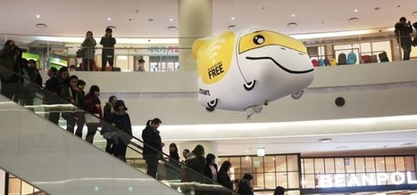 In South Korea, 'flying store' offers wifi and online shopping | SocialMedia_me | Scoop.it