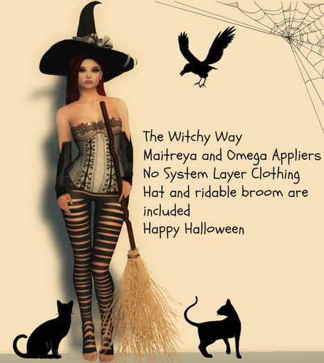 The Witchy Way 2016   亗 Second Life Freebies Addiction & More 亗   Scoop.it