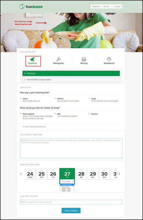 Ensure Success for your TaskRabbit Clone with These Script Features | Web Design & Development Company India | Scoop.it