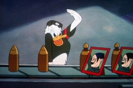Donald Duck in Der Fuehrer's Face (1943 Disney) | Criminology and Economic Theory | Scoop.it