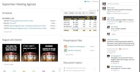 SamePage. Une seule et même page pour faciliter le travail collaboratif | Time to Learn | Scoop.it