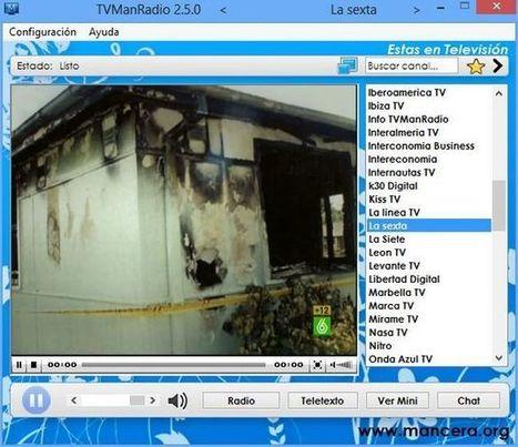 TVManRadio, aplicación gratuita con una gran selección de televisiones y radios españolas online | Recull diari | Scoop.it