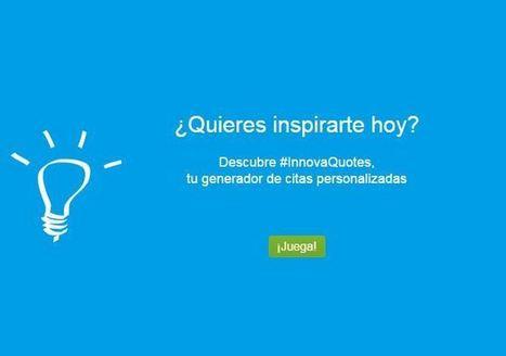 Descubre #InnovaQuotes, tu generador de citas personalizadas | Arte y cultura digital | Scoop.it