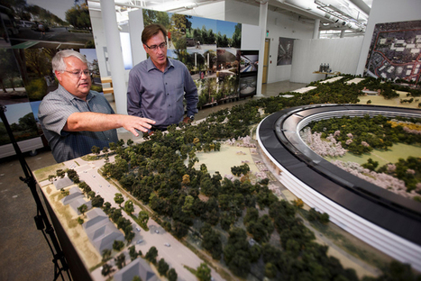 Apple Shows Off Scale Model of Their Proposed 'Spaceship' HQ & Campus | Architecture and Architectural Jobs | Scoop.it