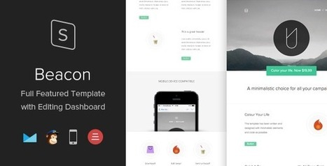 25 Responsive email templates with theme builder for marketing | Designmain.com - Design, Inspiration & Freebies | Scoop.it