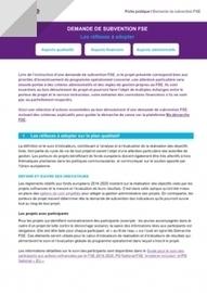 Demande de subvention FSE : les réflexes à adopter | Avise.org | Ressources associatives : bénévolat, financements, mesure de l'impact social, boite-à-outils | Scoop.it