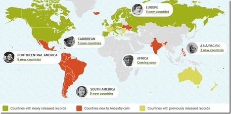 The Ancestry Insider: Ancestry.com Publishes 900 Million International Records | Chroniques d'antan et d'ailleurs | Scoop.it