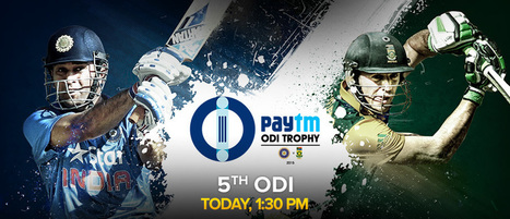 Final ODI India v South Africa Live From Mumbai, Oct 25, 2015 | Live Cricket Scores and Match Highlights | Scoop.it