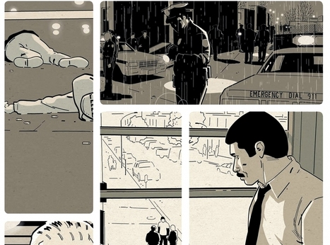 """Homicide"", la police vue de l'intérieur en BD  - France Inter 