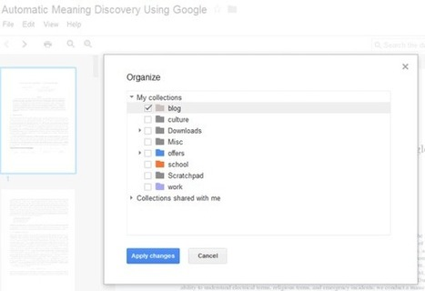 It's Easier to Organize Files in Google Docs | Using Google Drive in the classroom | Scoop.it