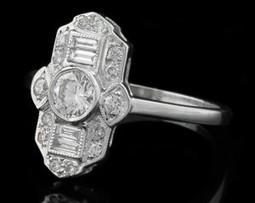 Art Deco vintage diamond ring   Engagement Rings 2013   Scoop.it