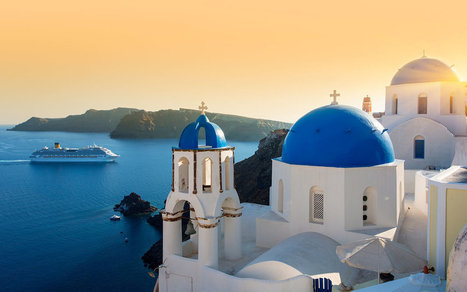 Santorini May Be Capping Tourist Numbers, If You're Traveling By Cruise | Travel To Santorini | Scoop.it