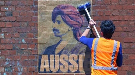 What is a real Aussie? Guerilla art raises the question | Culture | anti-racism framework | Scoop.it