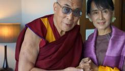 Aung San Suu Kyi rencontre le Dalaï-lama   The Blog's Revue by OlivierSC   Scoop.it