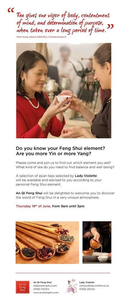 Feng Shui and Tea in London! | How to sleep better? | Scoop.it
