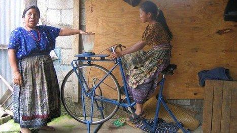 De vieux vélos transformés en appareils ménagers : les Guatémaltèques sont des génies ! | Bons plans et réflexions diverses | Scoop.it