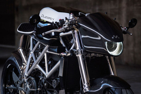"""Le Caffage"": Ducati 848 by Apogee Motoworks 