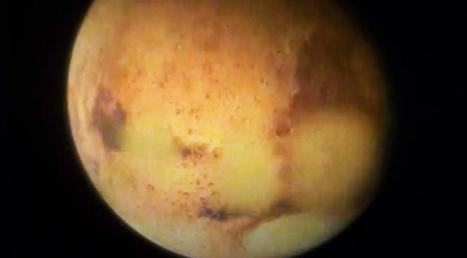 Mars : de l'eau propice à la vie découverte par le robot Opportunity | Lazare | Scoop.it