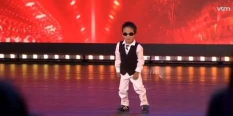 4-Year-Old Tristan On 'Belgium's Got Talent' Wins Over Judges, The World (VIDEO) | MOVIES VIDEOS & PICS | Scoop.it