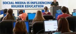 10 Ways Social Media is Influencing Higher Education | Higher Ed Social Media Marketing | Scoop.it