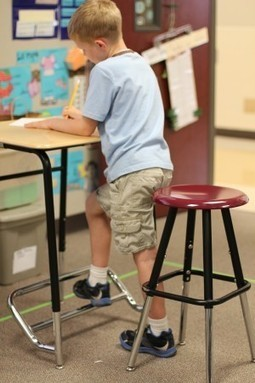 How Standing Desks Can Help Students Focus in the Classroom | Learning  and Libraries | Scoop.it