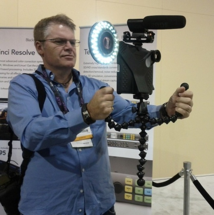 iPad video journalism comes of age at NAB 2012 | Machinimania | Scoop.it