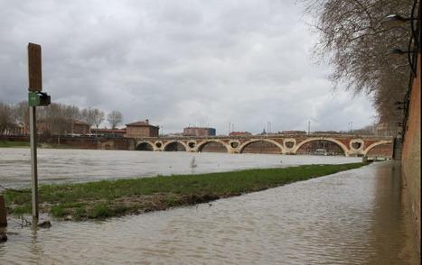 Les quais de la Garonne inondés   Toulouse La Ville Rose   Scoop.it