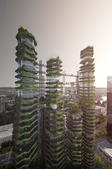 MAD Architects Envision the Future of Housing in Los Angeles | architecture verte | Scoop.it