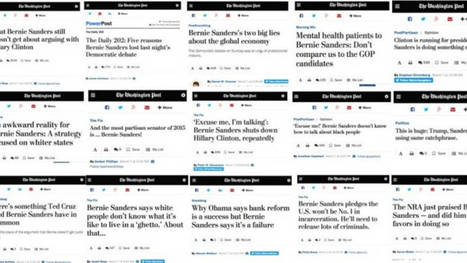 Washington Post Runs 16 Anti- #Sanders Ads in 16 hours The #greed #Wallstreet oligarchy gets nervous | USA the second nazi empire | Scoop.it