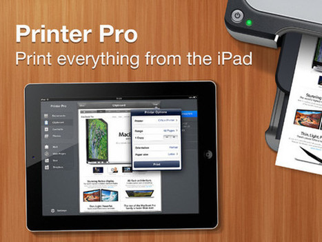 How to Hook up an iPad to Printer - iPadable | iThink, therefore iPad | Scoop.it