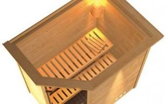 Un sauna se prénommant Mia   Univers de la maison   Scoop.it
