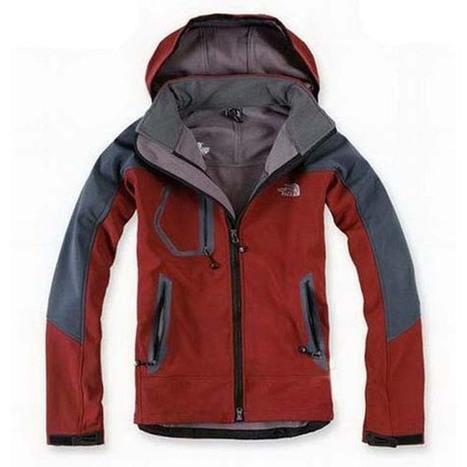 North Face Windstopper Jacket Maroon-Mens | share list | Scoop.it