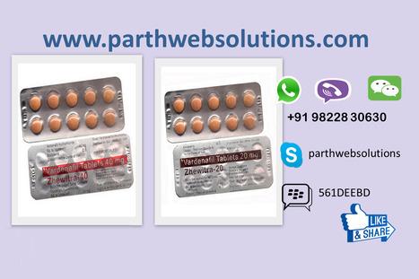 Zhewitra 20 & 40mg (vardenafil tablets) | Pharmacy Dropshipping | Scoop.it