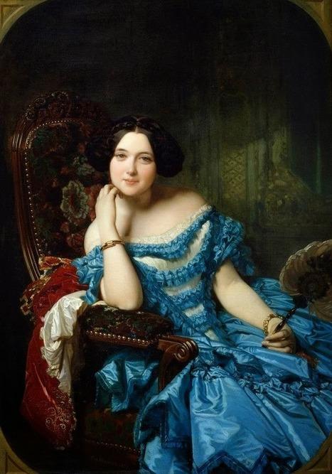 Arte XIX: Amalia de Llano y Dotres, Condesa de Vilches   El Arte del siglo XIX   Scoop.it