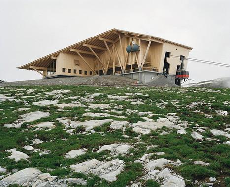 Chäserrugg, Toggenburg  / Herzog & de Meuron | Building with wood | Scoop.it