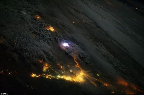 Image of the Day: Spectacular Earth Lightning from the ISS | Ciencia-Física | Scoop.it