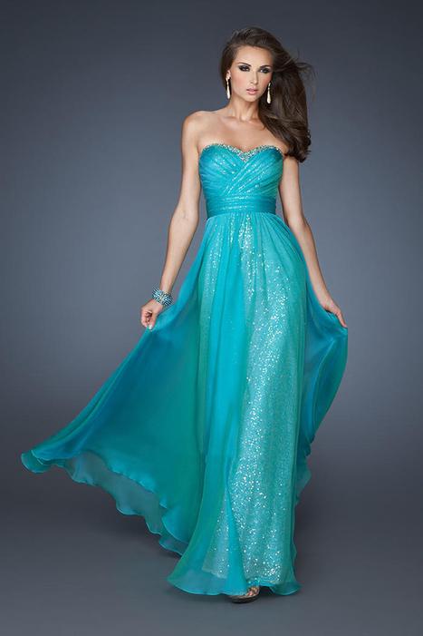 La Femme 18869 Peacock Sweetheart Long Prom Dresses [Sweetheart Long Prom Dresses] - $175.00 : La Femme Outlet, 60% Off La Femme Sale Online | gownprincess | Scoop.it
