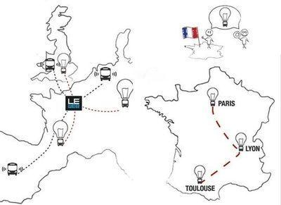 Six bus sillonnent l'Europe pour un road trip entrepreneurial ... | créaion d'entreprise | Scoop.it