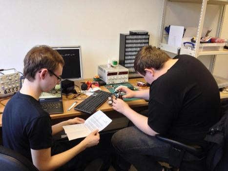 Twitter / Raspberry_Pi: We have @samnazarko and @ryanteck ... | Raspberry Pi | Scoop.it