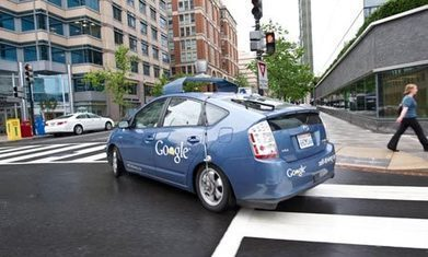 "Google's self-guided car could drive the next wave of unemployment | L'impresa ""mobile"" 