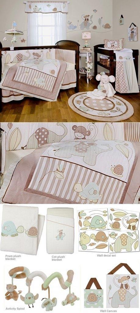 cottonbox - bed linen :: Quilt Cover Sets, kids bed linen, Duvet Cover Sets, Buy bed linen, quilt sets, comforter, bed linen Australia - Baboo Nursery Set by Living Textiles | Bed Linen | Scoop.it