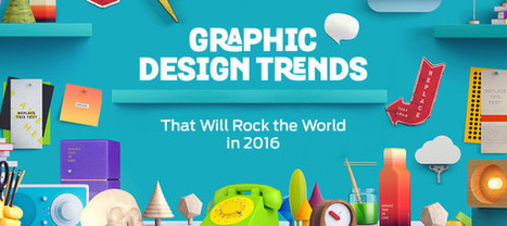 Contemporary Graphic Design Trends In 2016 | Get Benefited from Our Advanced IT Solutions | Scoop.it