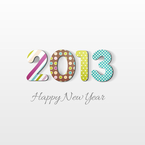 How to Create Happy New Year 2013 Holiday Card in Adobe Photoshop CS6 | Photoshop Tutorials | Scoop.it