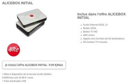 Free répond timidement à Bouygues Telecom avec Alice Initial Alice FAI - Echos du Net | Télécommunications | Scoop.it
